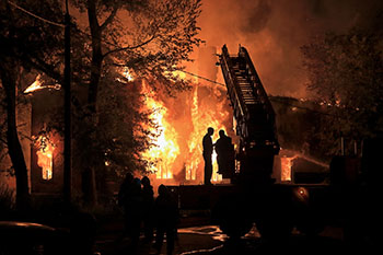 Trees House Fire In Arlington Heights IL