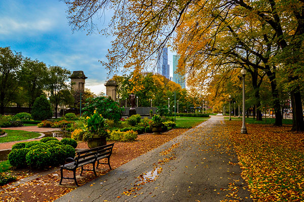 Chicago, IL Fall parks