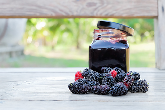 red-mulberry-fruit-jam